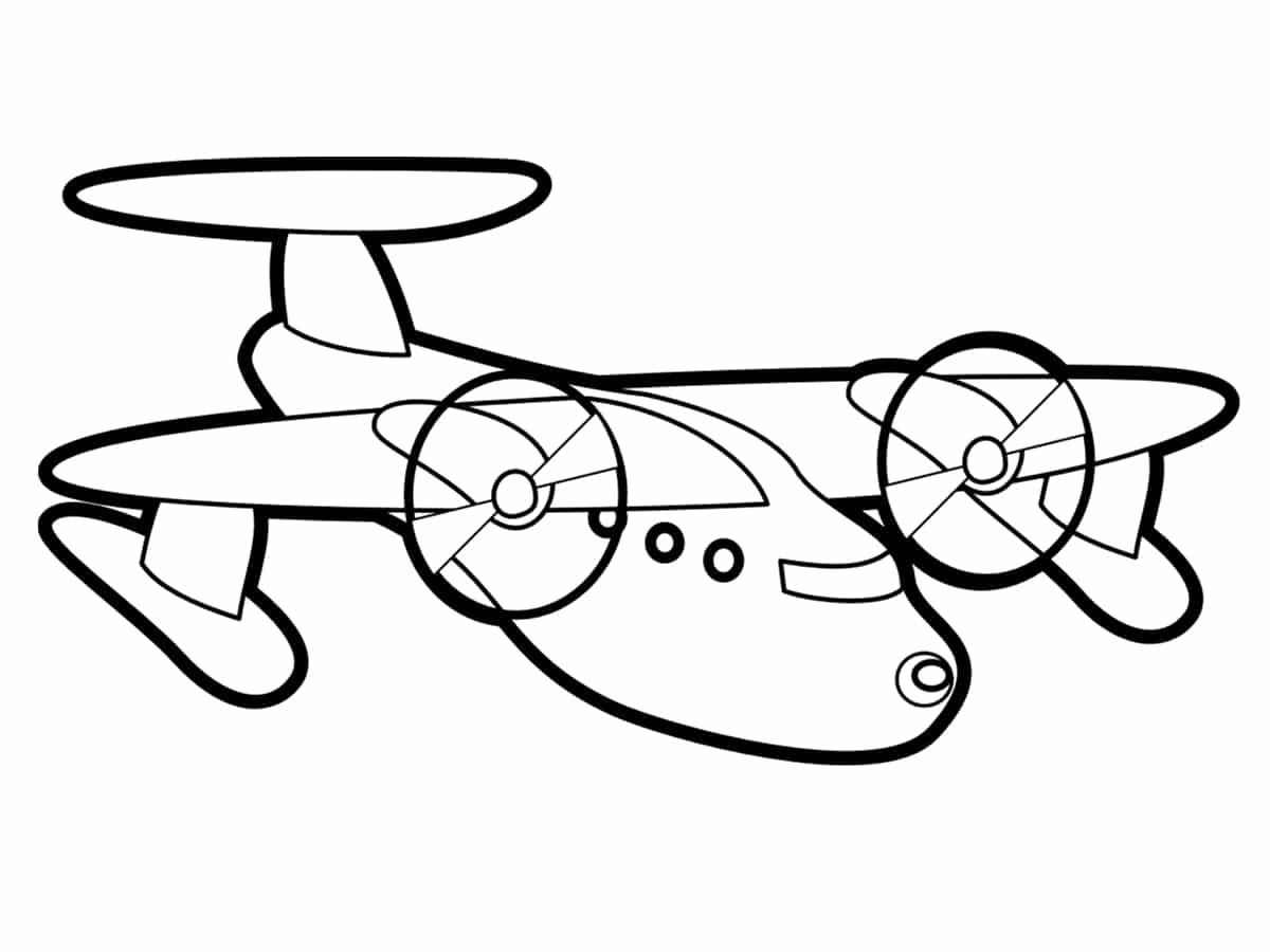 Coloriage Avion : Une Quarantaine De Dessins À Imprimer serapportantà Coloriage Avion