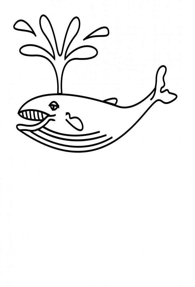 Coloriage Baleine Couleur Dessin Gratuit À Imprimer tout Coloriage Baleine A Imprimer Gratuit