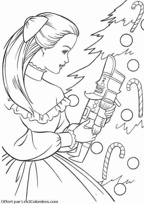 Coloriage Barbie Danseuse Étoile À Colorier - Dessin À à Coloriage Danseuse Étoile