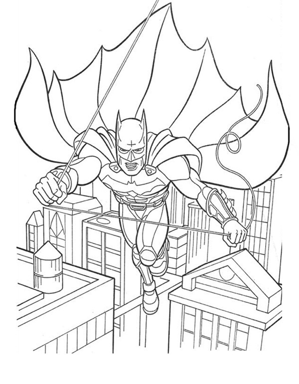 Coloriage Batman #3 à Coloriage Batman