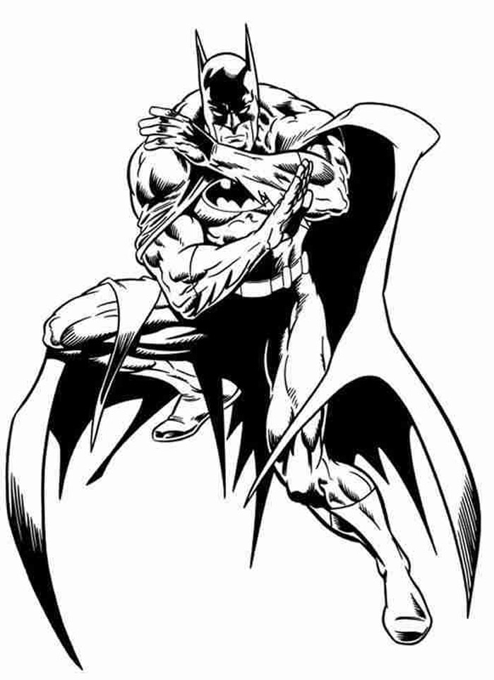 Coloriage Batman | 321 Coloriage destiné Coloriage Batman