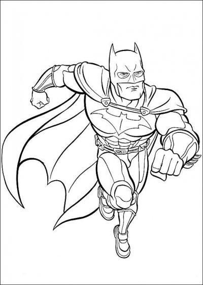 Coloriage Batman À Découper Dessin Gratuit À Imprimer pour Coloriage Batman A Imprimer