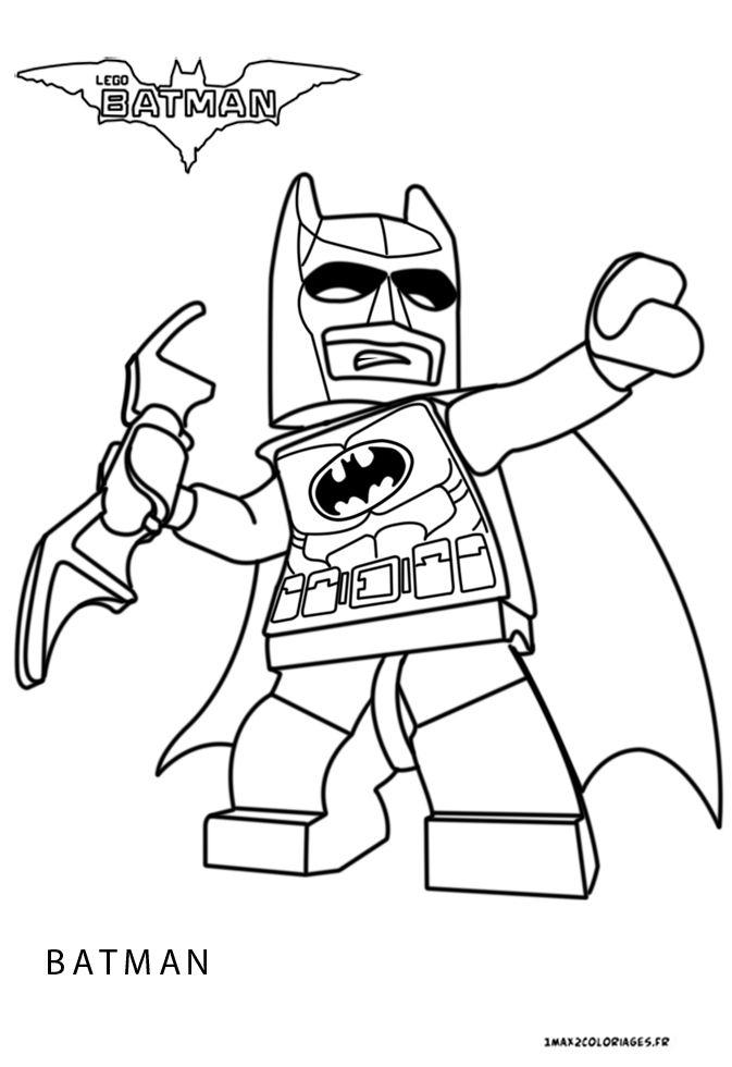 Coloriage Batman | Coloriage Lego, Coloriage Super Héros intérieur Coloriage Super Héros A Imprimer