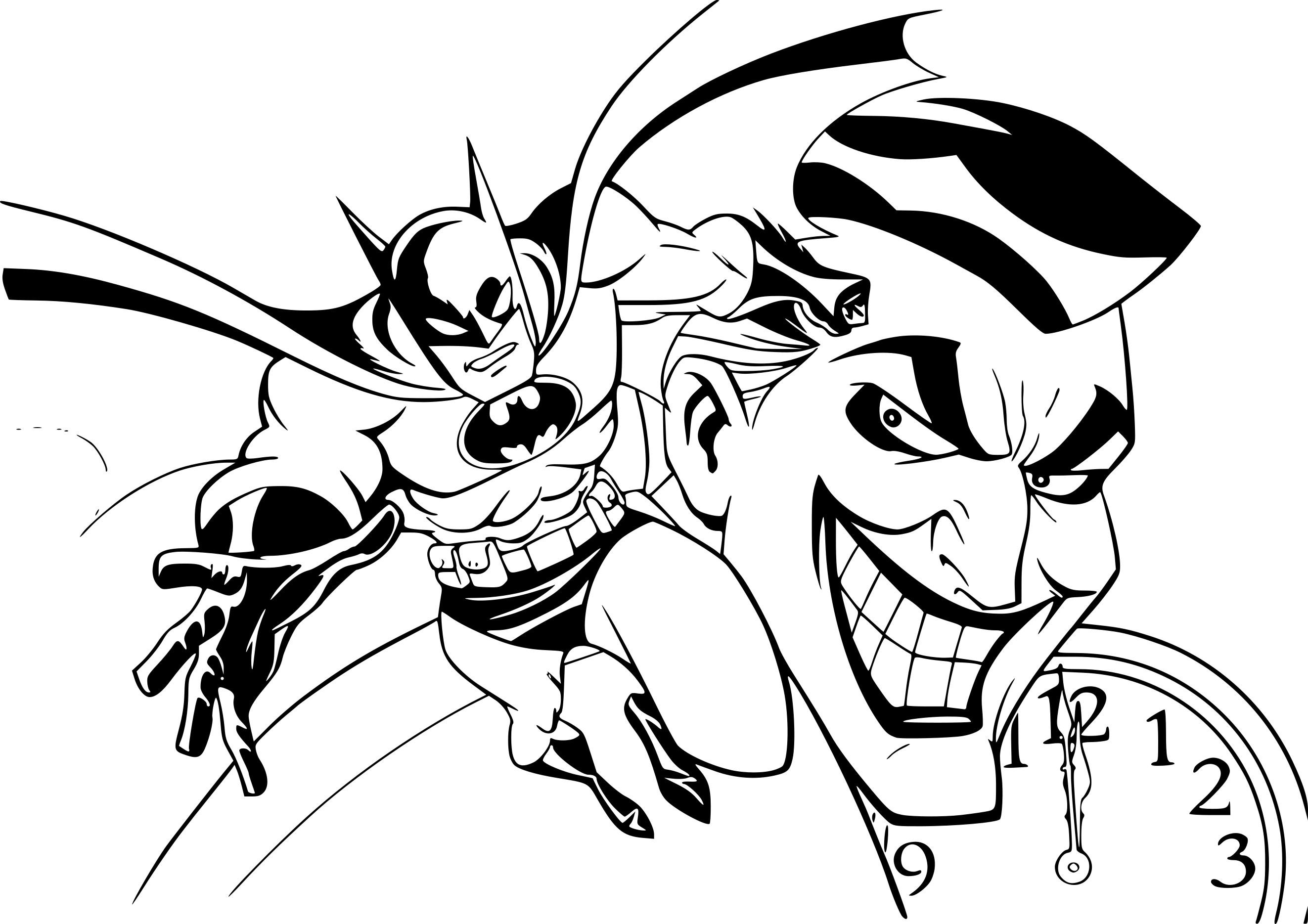 Coloriage Batman Joker À Imprimer Sur Coloriages serapportantà Coloriage À Imprimer Batman