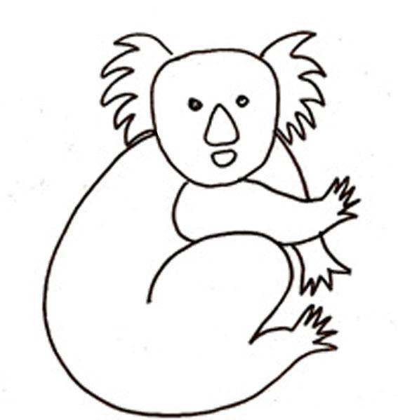 Coloriage Bébé Koala dedans Coloriage Koala A Imprimer
