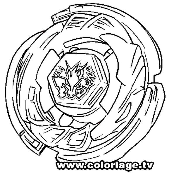 Coloriage Beyblade Pegasus En Ligne Gratuit À Imprimer pour Coloriage Beyblade Burst Turbo