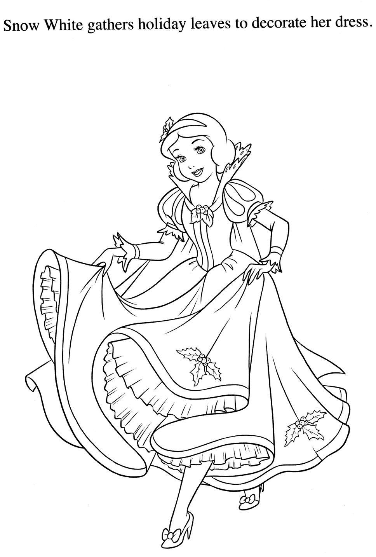 Coloriage Blanche Neige | Princess Stuff | Pinterest encequiconcerne Coloriage Dysney