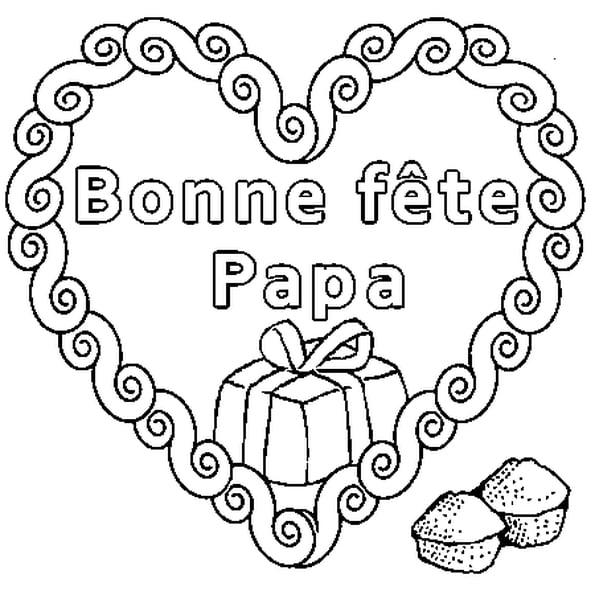Coloriage Bonne Fête Papa En Ligne Gratuit À Imprimer serapportantà Coloriage Fete Des Peres A Imprimer Gratuit