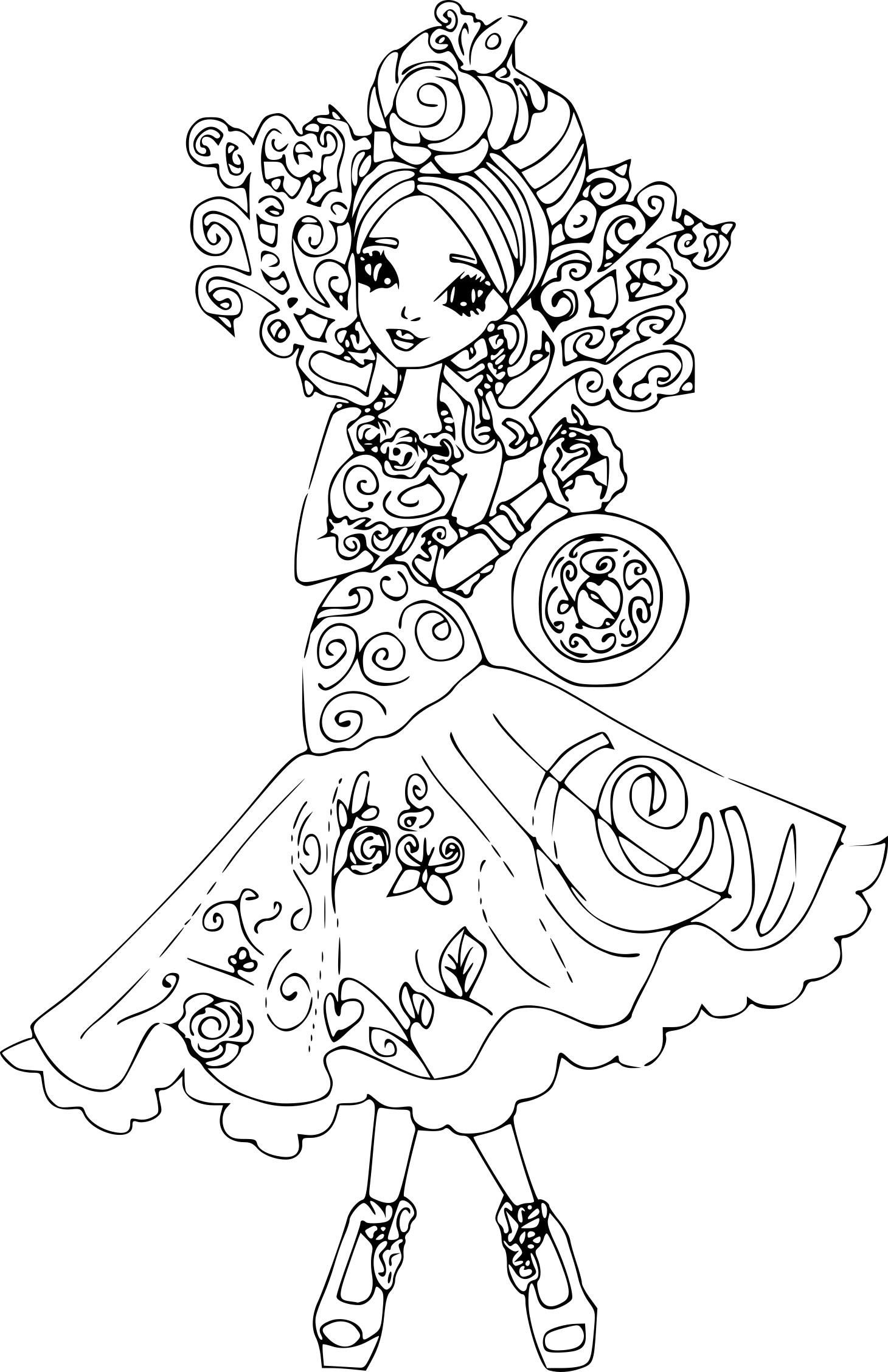 Coloriage Briar Beauty Belle Au Bois Dormant À Imprimer concernant Coloriage La Belle Au Bois Dormant