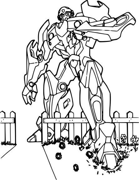 Coloriage Bumblebee Transformers À Imprimer avec Dessins De Coloriage Transformers Imprimer