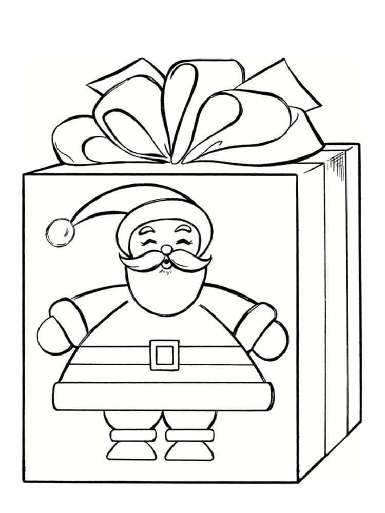 Coloriage Cadeau : 30 Modèles À Imprimer Gratuitement pour Dessin Cadeau De Noel