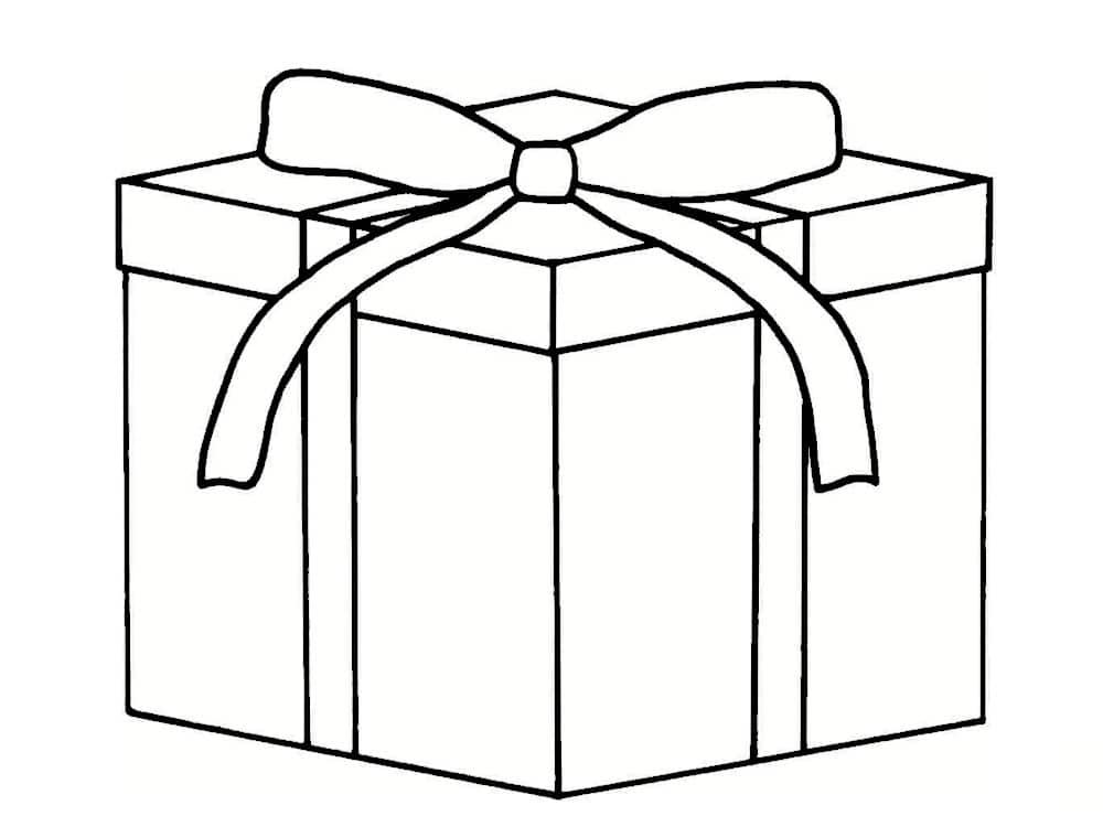 Coloriage Cadeau : 30 Modèles À Imprimer Gratuitement serapportantà Dessin Cadeau De Noel