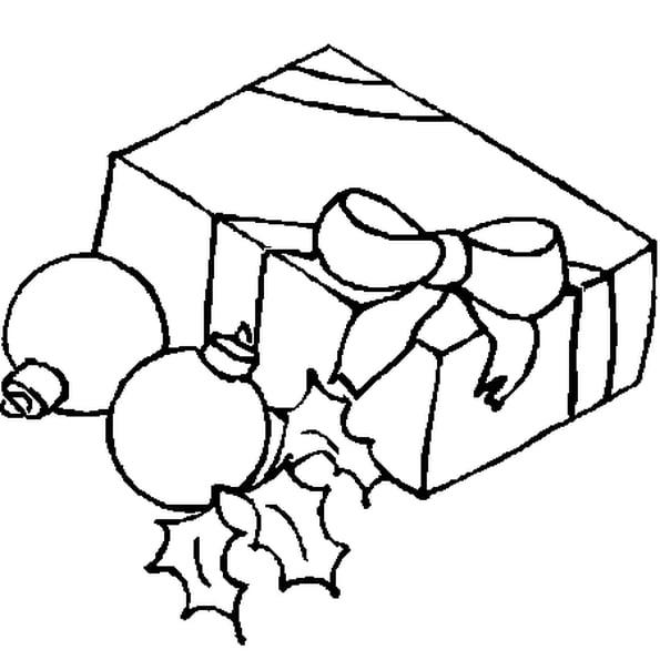 Coloriage Cadeau De Noël 2 En Ligne Gratuit À Imprimer pour Coloriage Cadeau De Noel