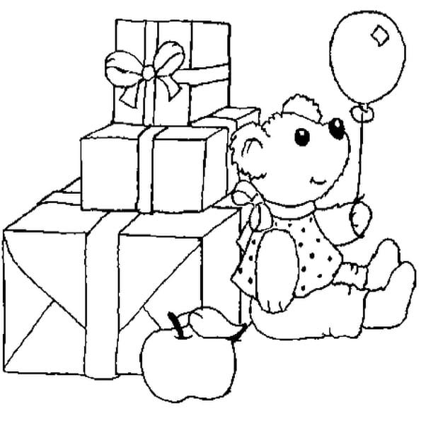 Coloriage Cadeaux En Ligne Gratuit À Imprimer serapportantà Coloriage Cadeau De Noel