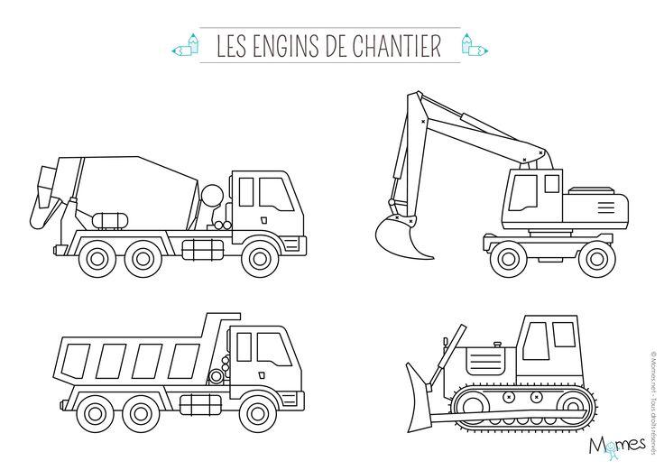 Coloriage Camion | Coloriage Camion, Dessin Camion Et serapportantà Coloriage Camion A Imprimer