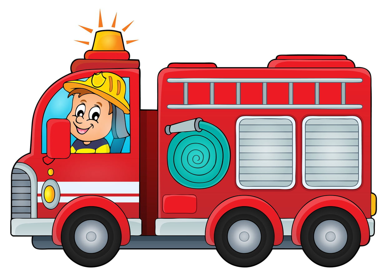 Coloriage Camion De Pompier Sur Hugolescargot dedans Coloriage Camion À Imprimer