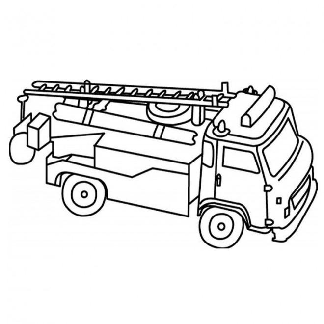 Coloriage Camion Pompier À Télécharger avec Coloriage Helicoptere A Imprimer Gratuit