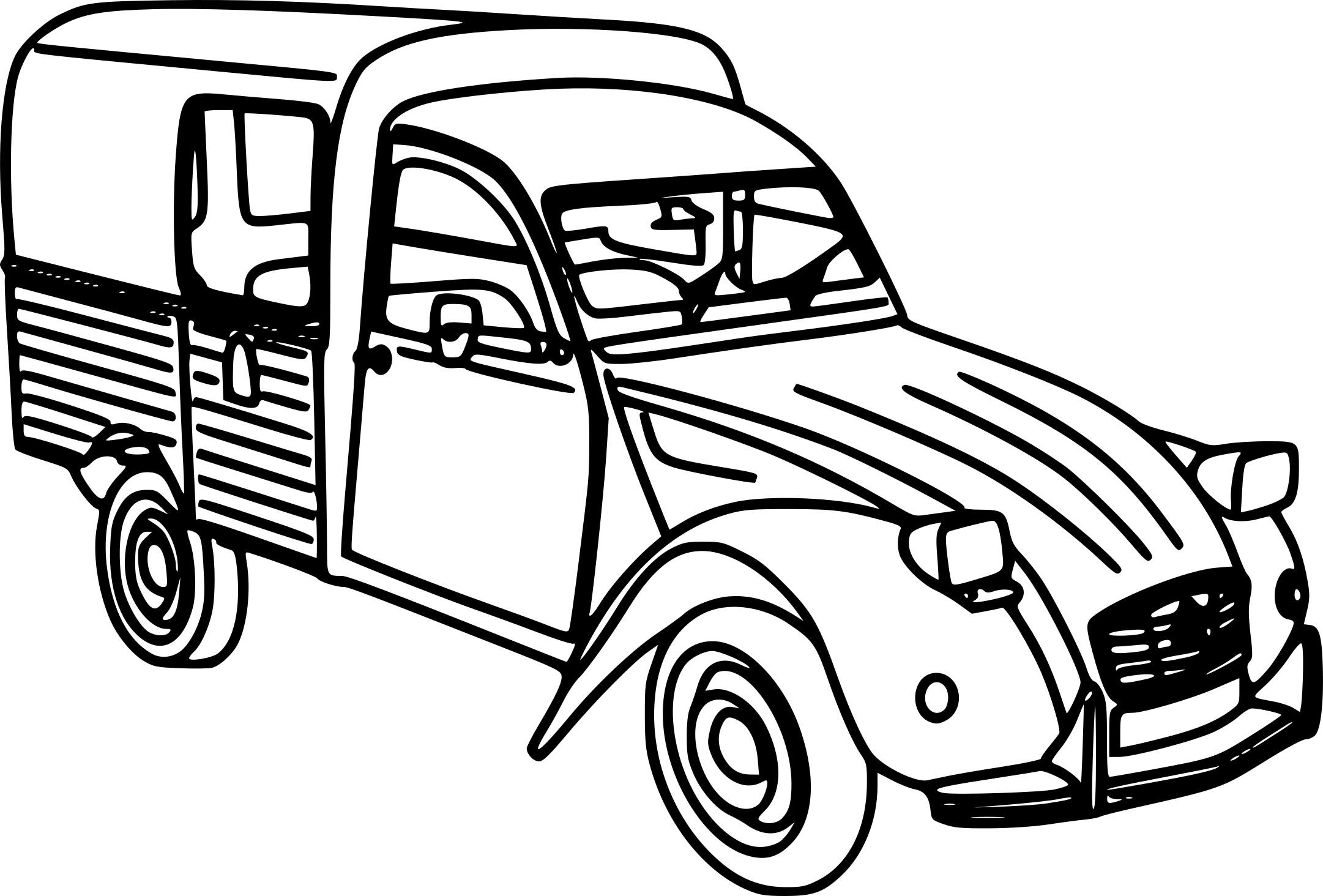 Coloriage Camionnette À Imprimer Sur Coloriages à Coloriage Camion A Imprimer