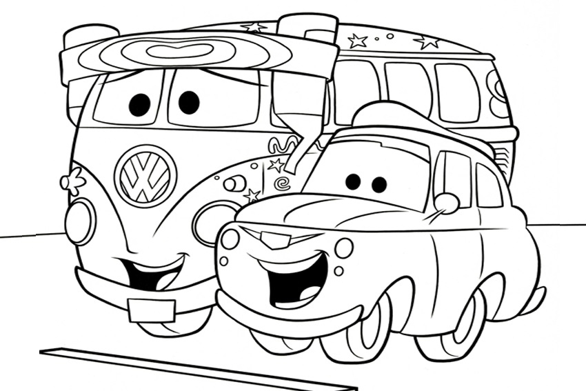 Coloriage Cars Et Cars 2 (Et Dessins De Flash Mc Queen encequiconcerne Coloriage Cars