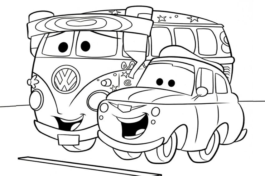 Coloriage Cars Et Cars 2 (Et Dessins De Flash Mc Queen encequiconcerne Dessin A Colorier Cars