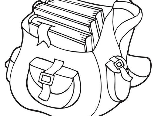 Coloriage Cartable Maternelle 7 Best Cartable Images On pour Coloriage Cartable
