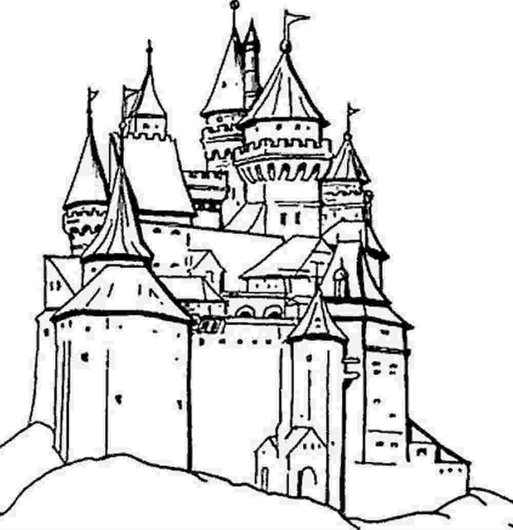 Coloriage Chateau Princesse tout Coloriage Chateau Princesse