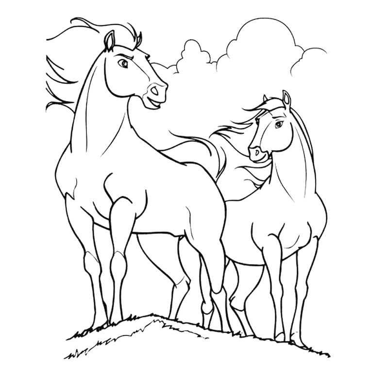 Coloriage Cheval Qui Saute Un Obstacle – Demang à Coloriage Cheval Qui Saute