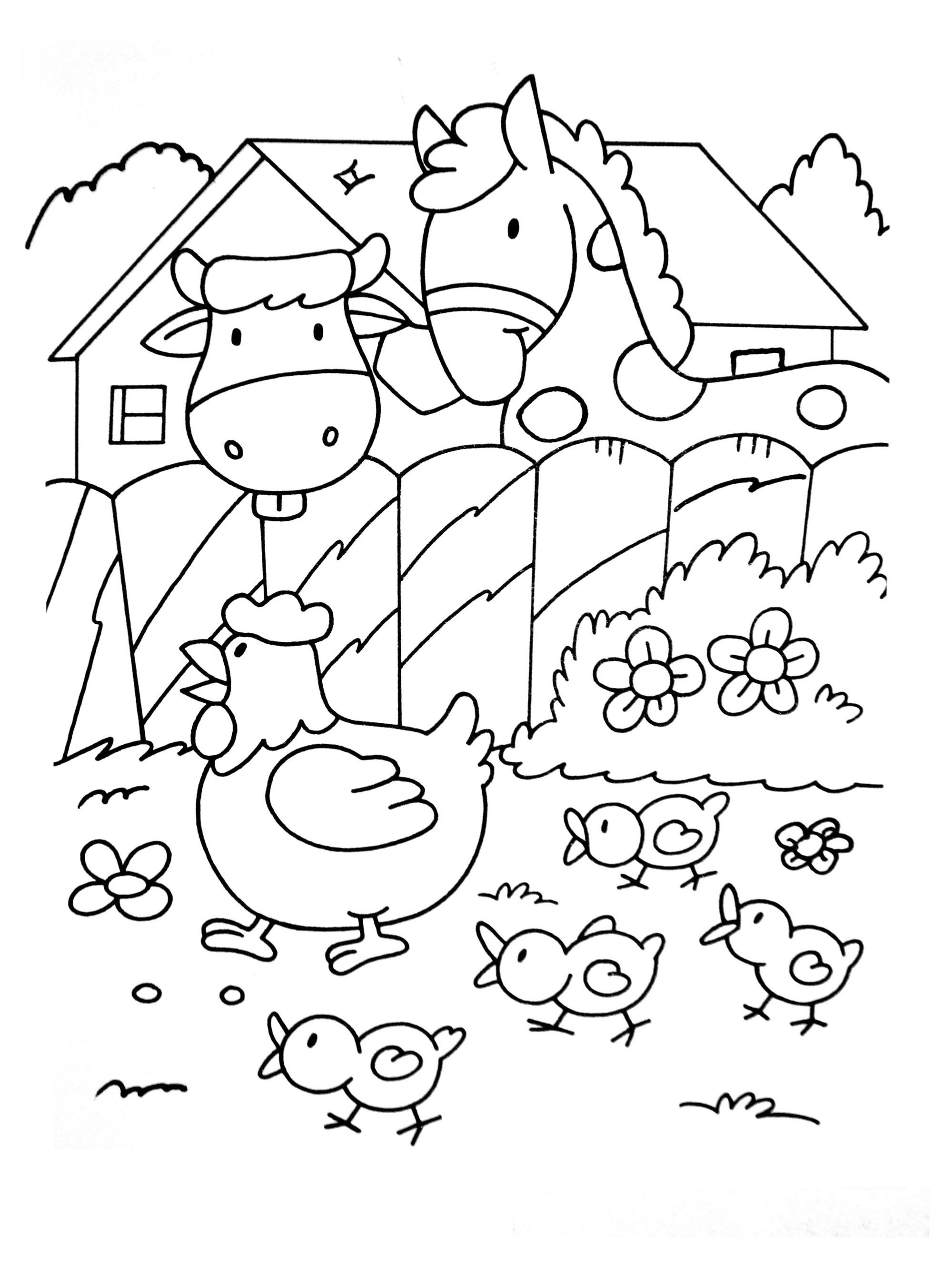 Coloriage Chevaux Pour Enfants - Coloriages De Chevaux Et dedans Photo De Chevaux A Imprimer Gratuitement