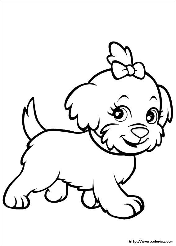 Coloriage Chien Labrador concernant Coloriage Labrador A Imprimer