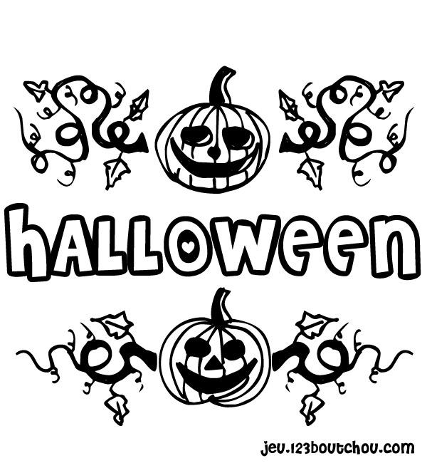 Coloriage Citrouille Halloween Gratuit Imprimer destiné Dessin Citrouille A Imprimer