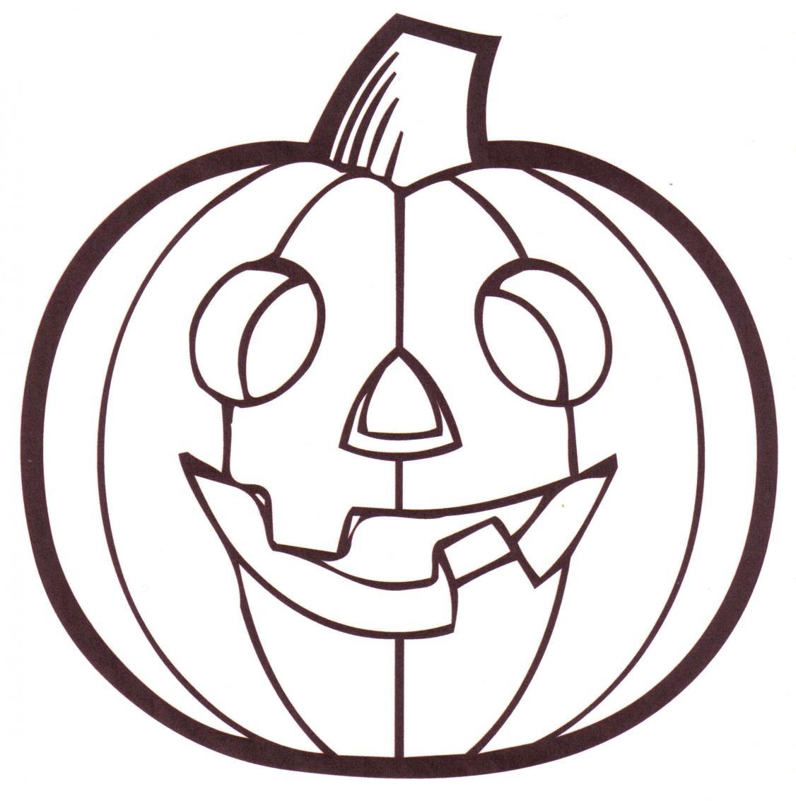 Coloriage Citrouille Pour Halloween À Imprimer dedans Dessin Citrouille A Imprimer
