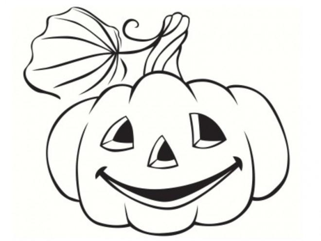 Coloriage Citrouille Pour Halloween Sur Ordinateur serapportantà Dessin Citrouille A Imprimer