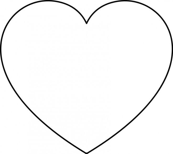 Coloriage Coeur À Colorier Dessin Gratuit À Imprimer intérieur Coloriage À Imprimer De Coeur
