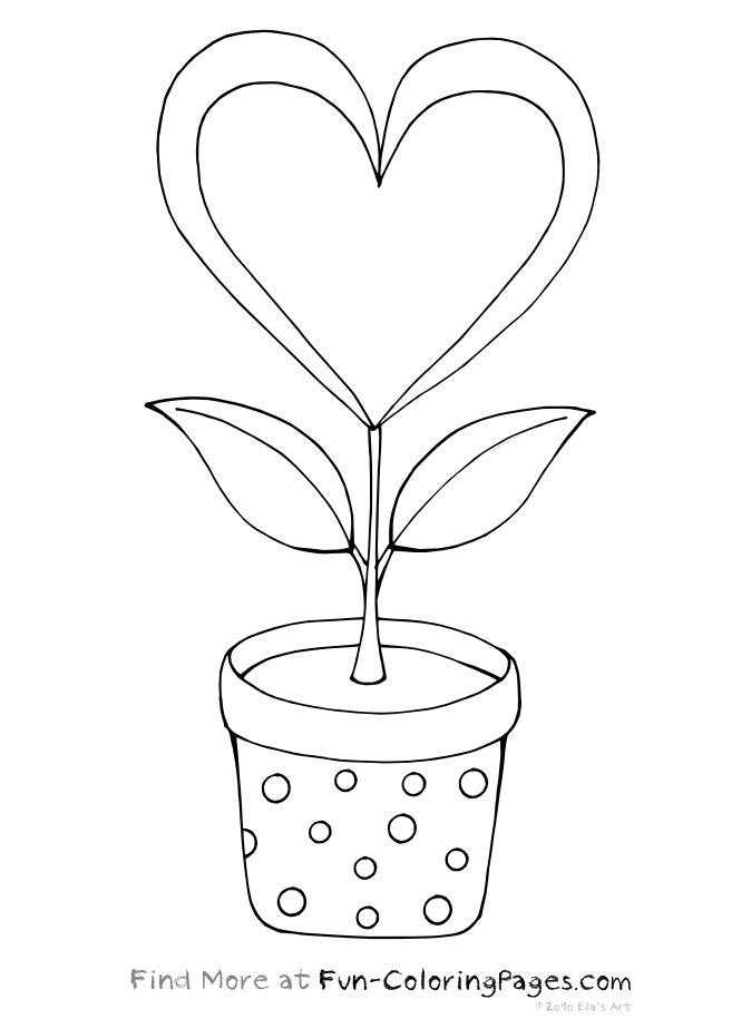 Coloriage Coeur À Imprimer Pour Les Enfants - Cp08454 serapportantà Coloriage À Imprimer De Coeur