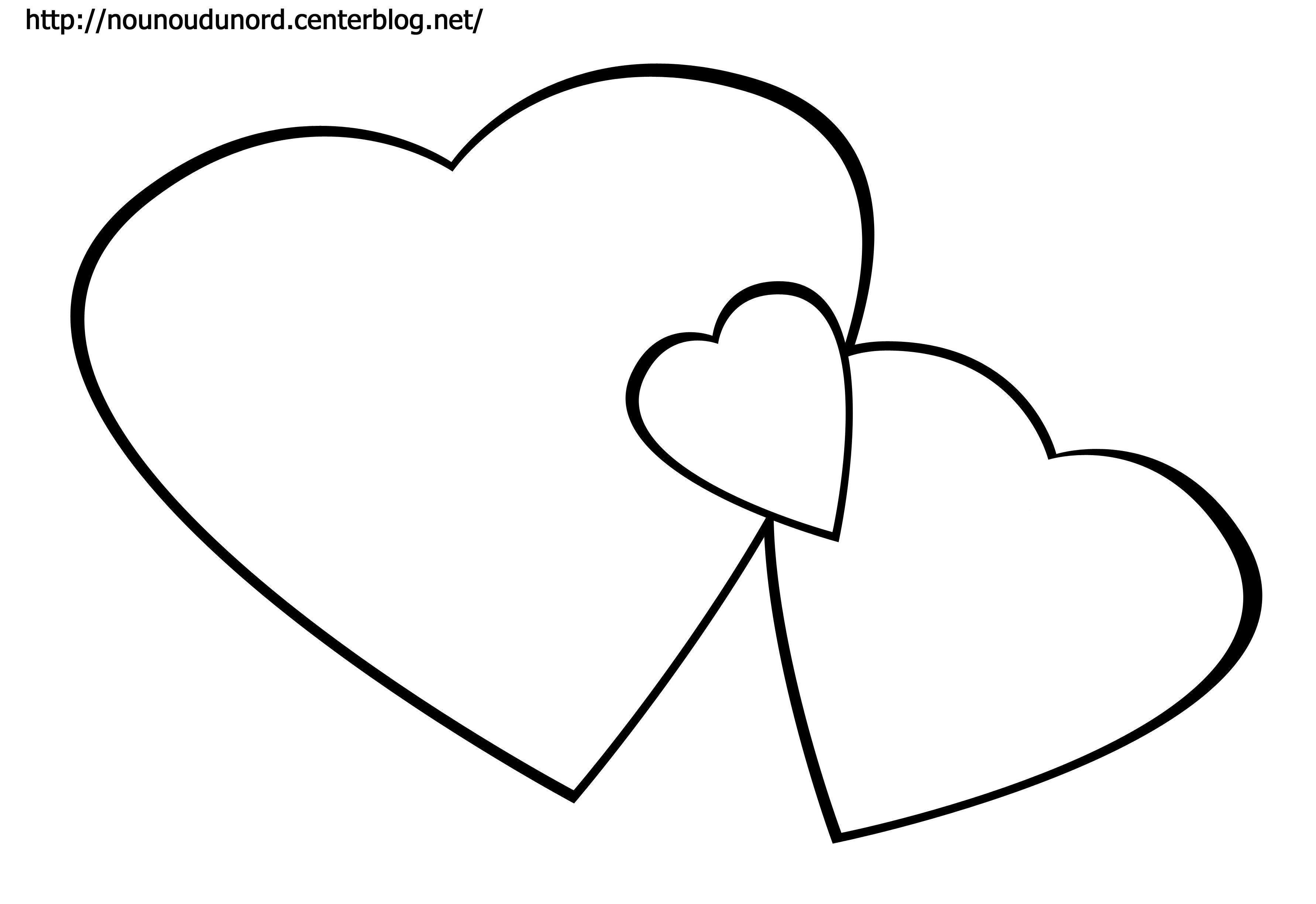 Coloriage Coeur Dessiné Par Nounoudunord avec Dessin De Nounours Avec Un Coeur