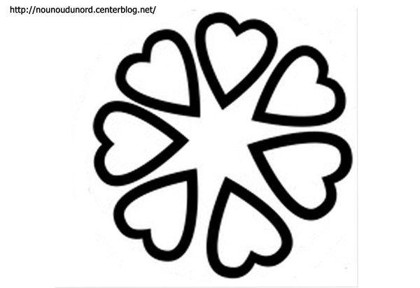 Coloriage Coeurs St Valentin - Page 3 pour Coloriage À Imprimer De Coeur