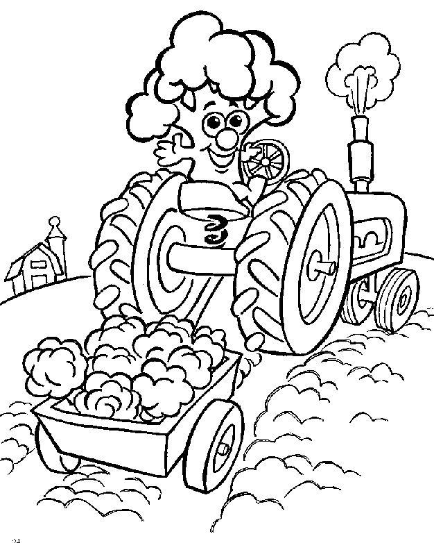 Coloriage Colorier - Coloriage Tracteur Colorier dedans Dessin Tracteur Tom