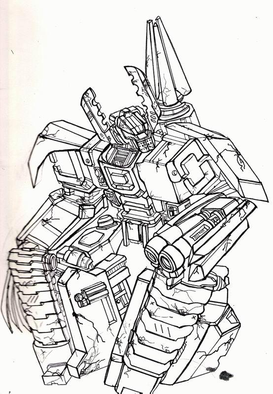 Coloriage Colorier - Coloriage Transformers Colorier destiné Coloriage À Imprimer Transformers