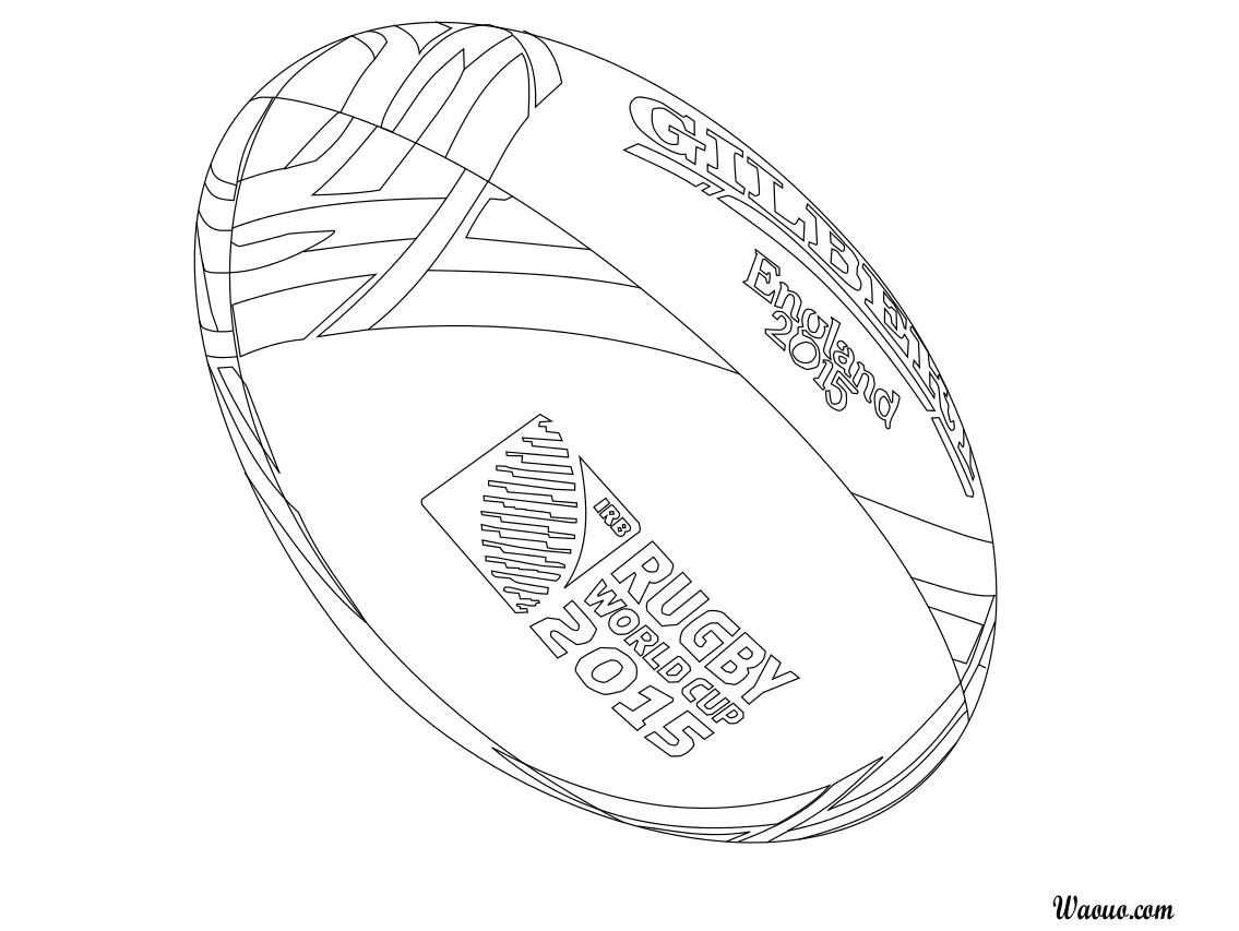 Coloriage Coupe Du Monde De Rugby | Danieguto à Coupe Du Monde Dessin