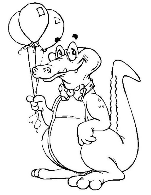 Coloriage Crocodile À Imprimer Gratuitement intérieur Coloriage Crocodile A Imprimer Gratuit
