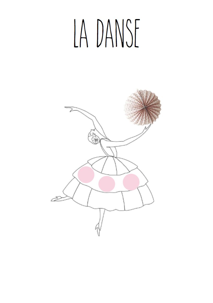 Coloriage Danseuse À Imprimer | Liberate intérieur Dessin Danseuse Classique