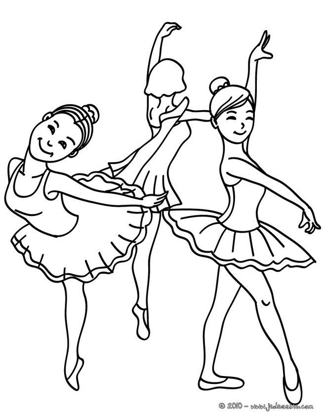 Coloriage Danseuse De Ballet Dessin Gratuit À Imprimer pour Coloriage Danseuse A Imprimer Gratuit