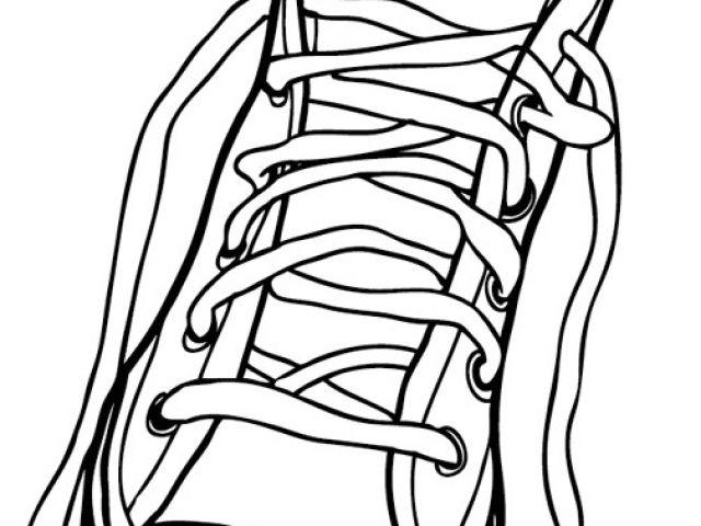 Coloriage De Chaussure A Talon A Imprimer Chaussures tout Dessin De Chaussure A Talon