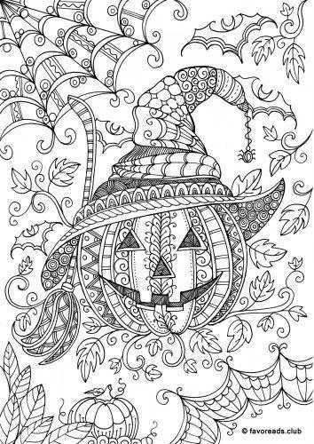 Coloriage De Citrouille Halloween Gratuit | Pumpkin intérieur Book Coloriage