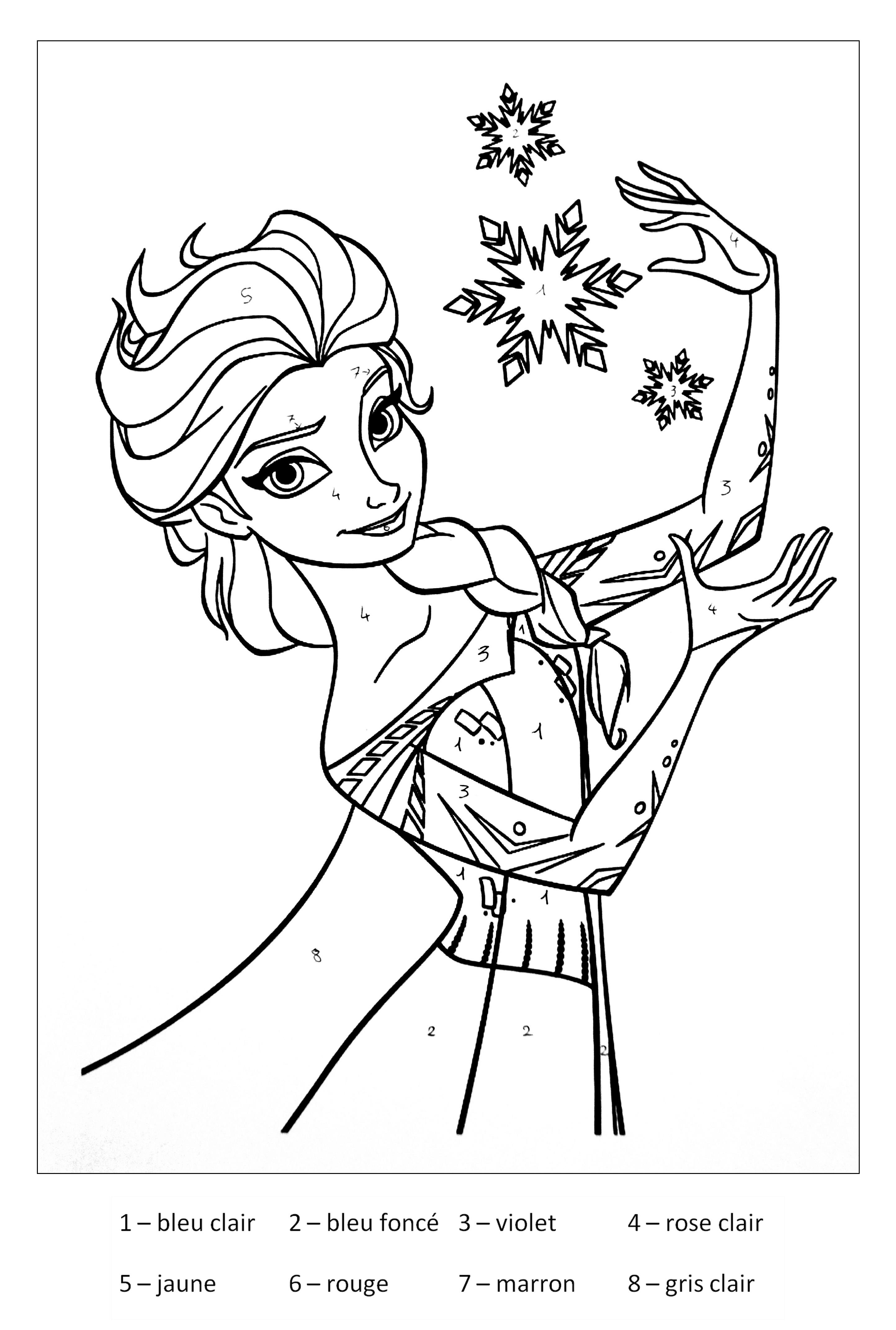 Coloriage De Elsa La Reine Des Neiges Gratuit À Colorier serapportantà Reine Des Neige A Colorier
