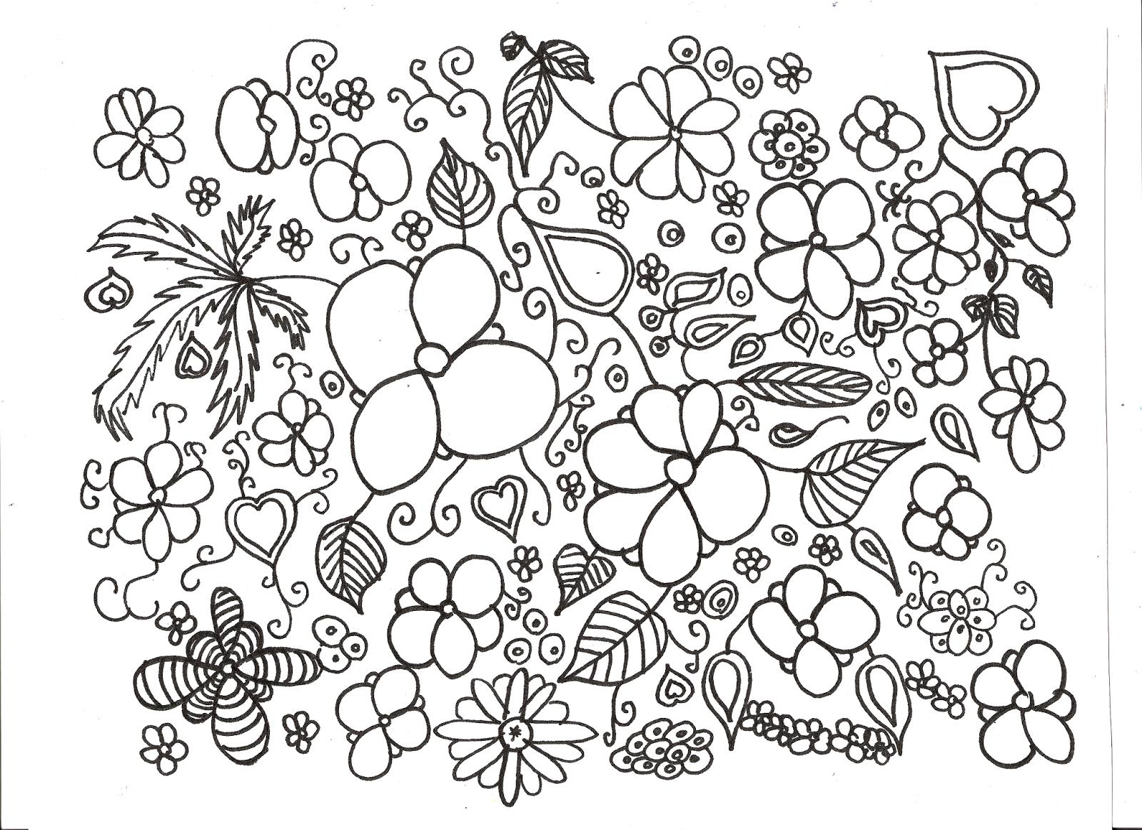 Coloriage De Fleur A Imprimer Pour Adulte | Liberate dedans Coloriage Magique Pour Adulte