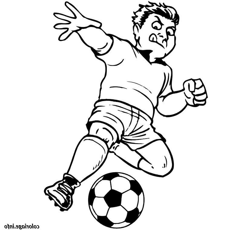 Coloriage De Footballeur Bestof Image Coloriage De Foot concernant Coloriage De Footballeur