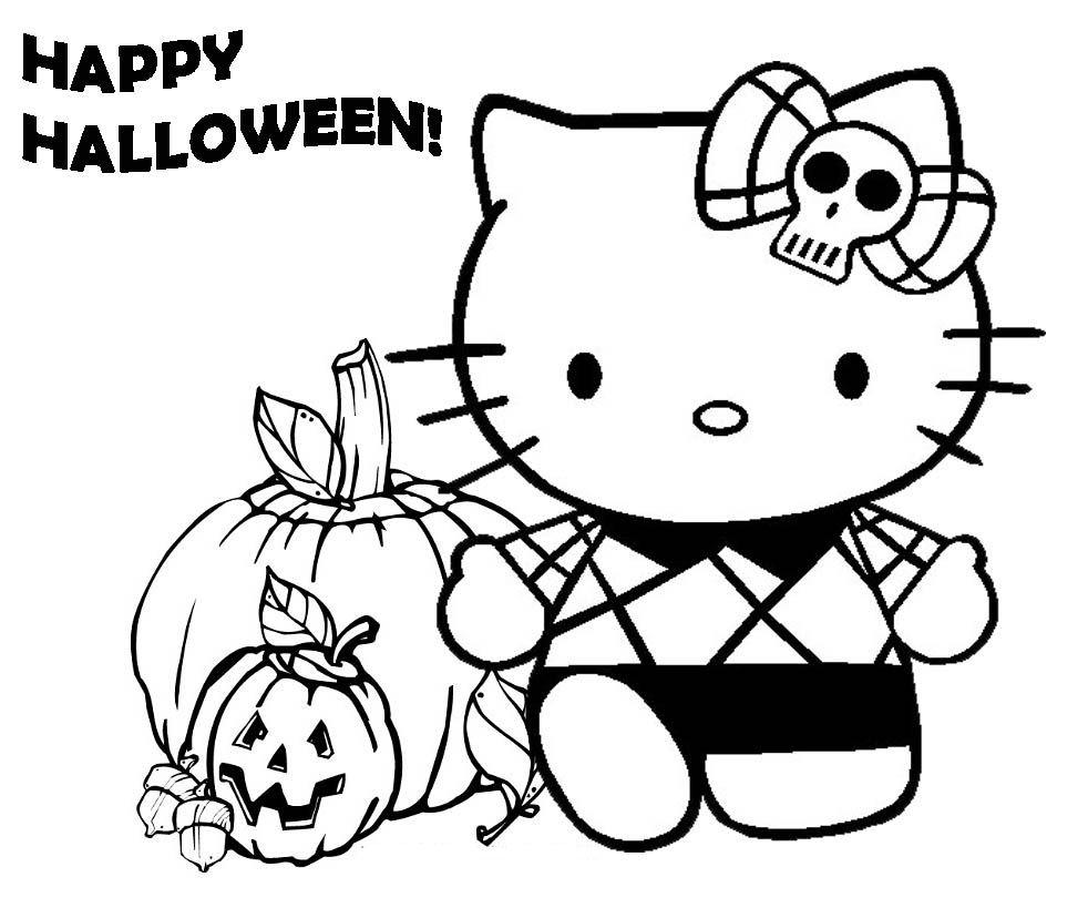 Coloriage De Halloween À Colorier Pour Enfants - Coloriage destiné Dessin A Colorier Halloween Gratuit
