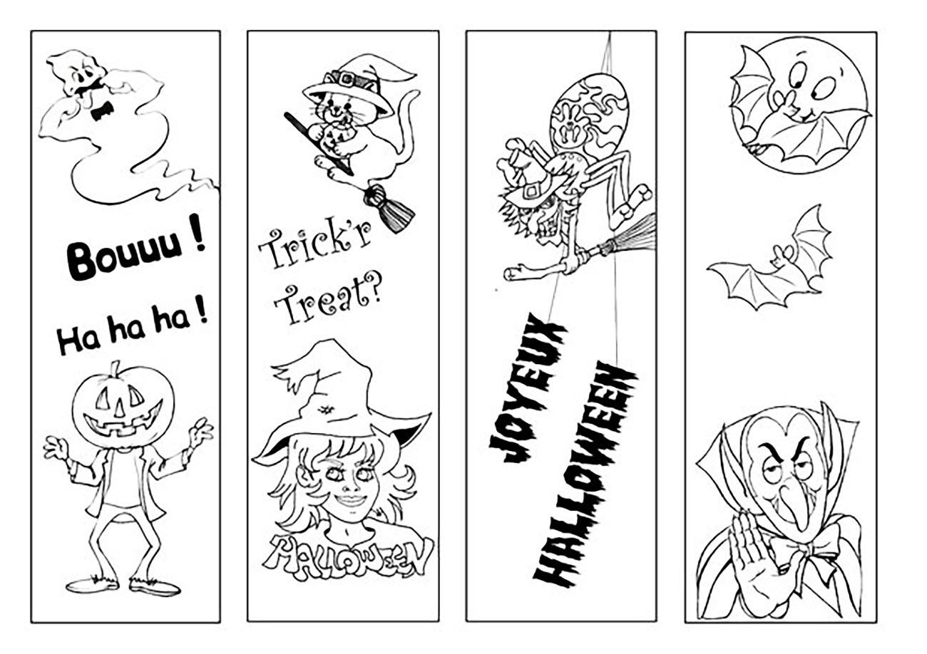 Coloriage De Halloween Pour Enfants - Coloriage Halloween serapportantà Coloriage Halloween À Imprimer Gratuit