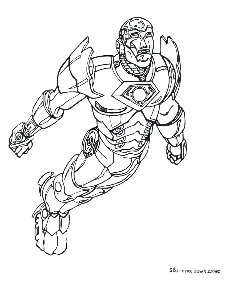 Coloriage De Iron Man À Telecharger Gratuitement avec Coloriage Super Hero A Imprimer Gratuit